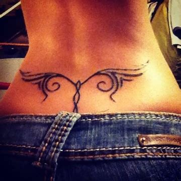 tribales tatuajes en espalda baja para catalogo