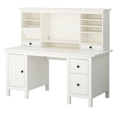 Desk With Hutch Ikea Hemnes Desk With Add On Unit White Desk 279 Hitch 150 Home Decor Hemnes