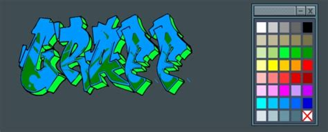 awasome graffiti graffiti creator  text