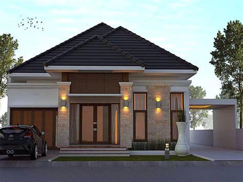 desain jendela minimalist desain rumah minimalis terbaru dengan model teras batu