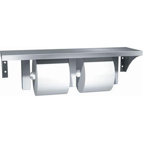 dual roll toilet tissue dispenser stainless steel surface mounted dual roll toilet tissue