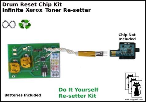 toner chip resetter for xerox xerox 6130 infinite toner chip reset black cyan magenta