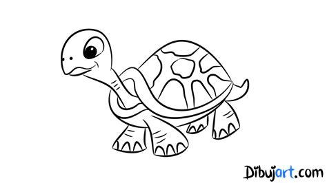 imagenes de tortugas faciles para dibujar como dibujar una tortuga paso a paso dibujart com