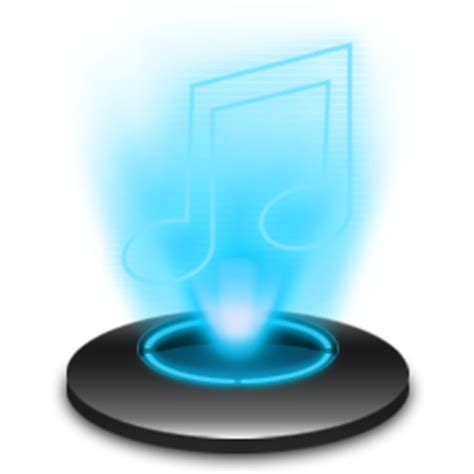 aptoide ico my music icon holographic iconset radvisual