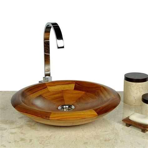 holz waschbecken teak holz waschbecken rund 40 cm bei wohnfreuden kaufen