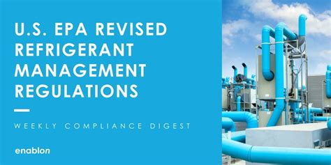 clean air act section 608 weekly compliance digest epa refrigerant management rule