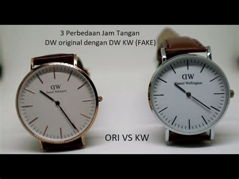 Jam Kw 1 Jam 3 3 perbedaan jam tangan dw original dan kw