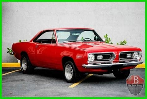 1967 plymouth barracuda two door coupe with 318 small