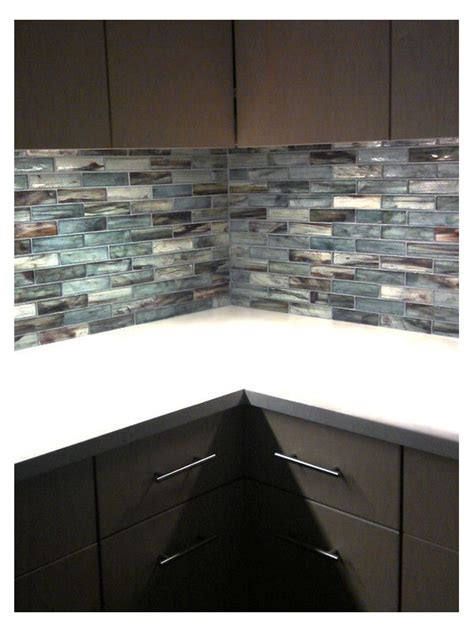 Recycled Glass Backsplashes For Kitchens The World S Catalog Of Ideas