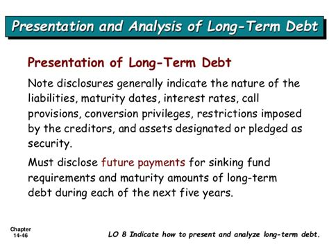 Sinking Fund Rate by Long Term Liabilities