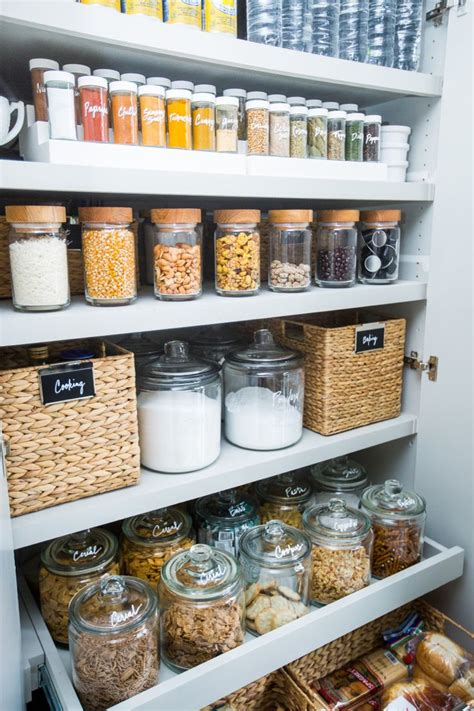 kitchen cabinet storage containers best 25 pantry organization ideas on