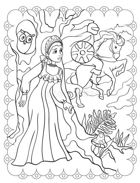 Livro Para Colorir De Unicorn Near Rainbow Ilustração do