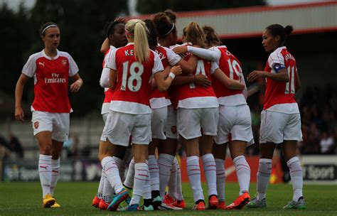 arsenal women 2017 spring series cup arsenal ladies host notts county