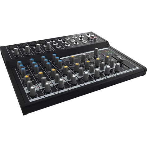 Mackie Mix12fx 12 Channel Compact Mixer With Effects mackie mix12fx 12 channel compact mixer with effects mix12fx