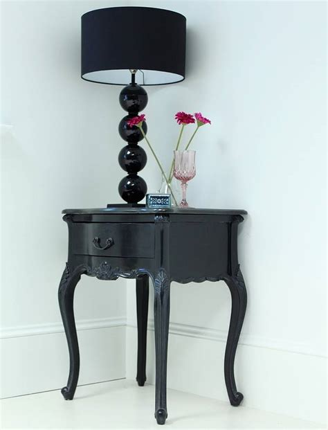 black french bedside black french bedside by out there interiors