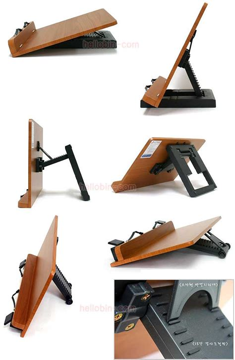 Double Book Stand Reading Desk Portable Bookmark Holder Reading Stand For Desk