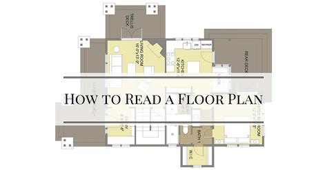 Reading A Floor Plan by How To Read A Floor Plan Bungalow Company