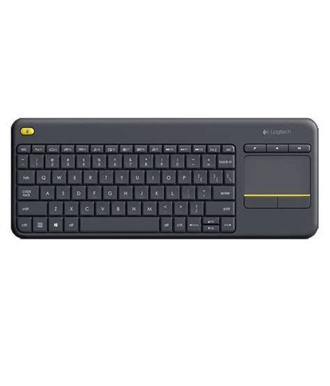 Murah Keyboard Logitech K400 Plus Black logitech k400 plus wireless touch keyboard black buy logitech k400 plus wireless touch