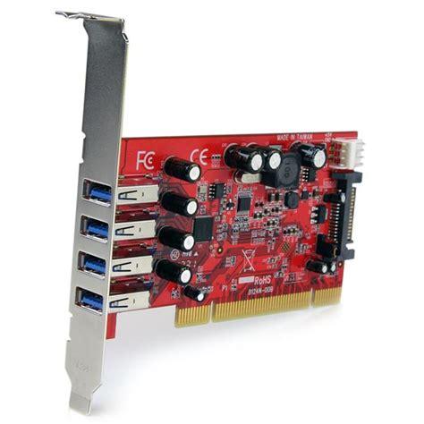 Usb 3 Pci Card 4 port pci usb 3 0 card w sata power usb 3 0 host