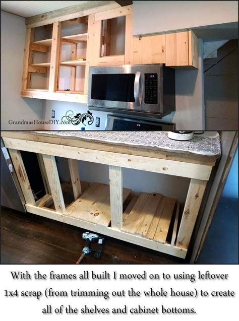 Diy Build Kitchen Cabinets by 21 Diy Kitchen Cabinets Ideas Plans That Are Easy