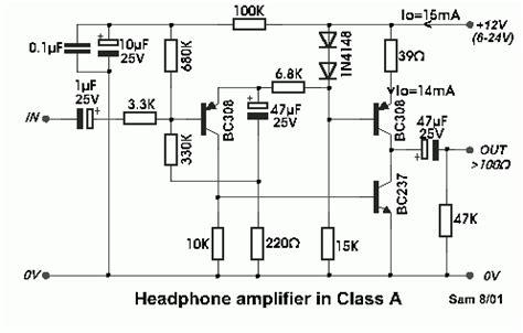 transistor lifier class a class a designed headphone lifier using bc308 transistor eeweb community