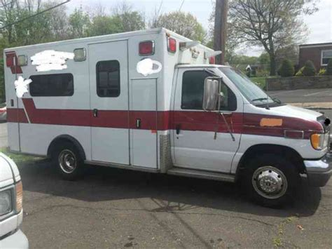 1997 ford e350 ambulance for auction municibid ford e 450 1997 emergency fire trucks