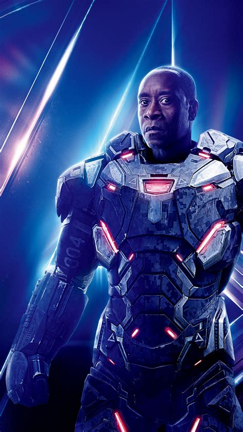 don cheadle  war machine  avengers infinity war