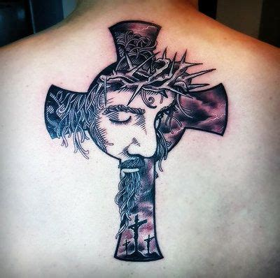 tattoos of crosses with jesus jesus cross by hassified deviantart on