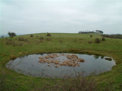 a picture of a dew pond