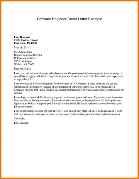 cover letter name exle certificate template free word