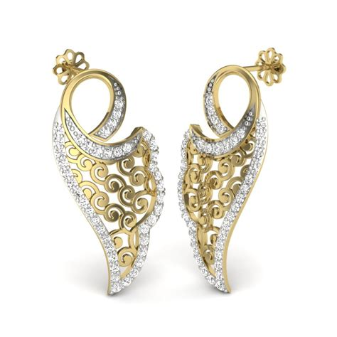 earings desing latest fashion trends latest diamond earrings design
