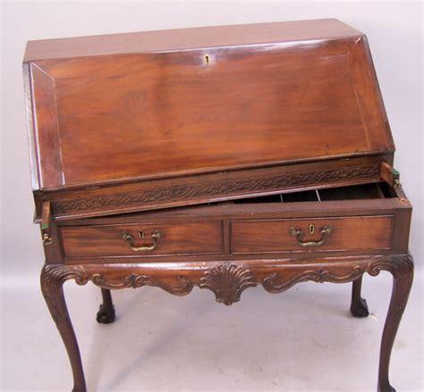 antique drop front desk for sale chippendale drop front desk c1840 to 1860