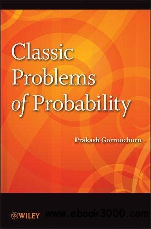 calculus with selected classics problem ebook classic problems of probability free ebooks download