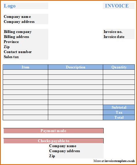 15 Microsoft Office Invoice Template Authorizationletters Org Office Billing Template
