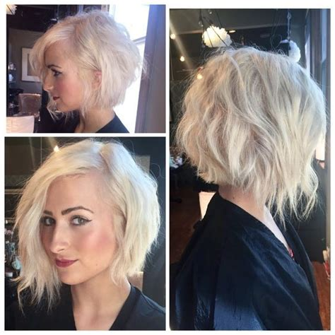ways to style a line hair 20 trendy ways to style a blonde bob popular haircuts