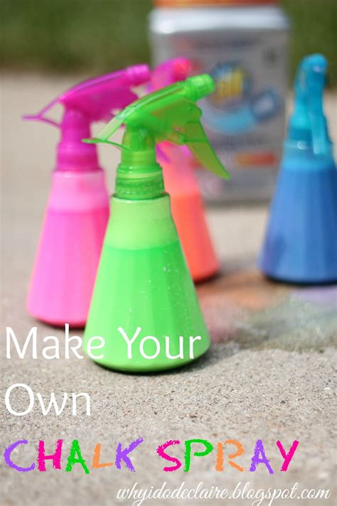 I Do Declaire Make Your Own Chalk Spray