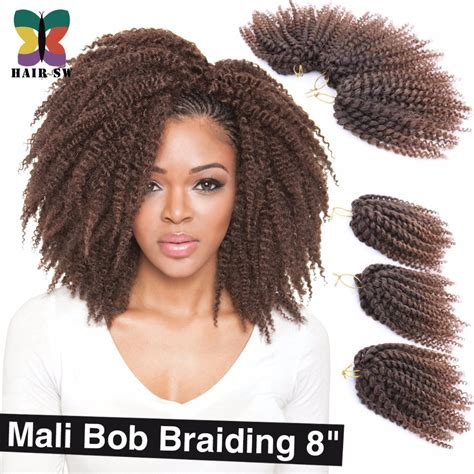 crochet braids with bob marley hair aliexpress com buy ombre wand curls mali bob twist