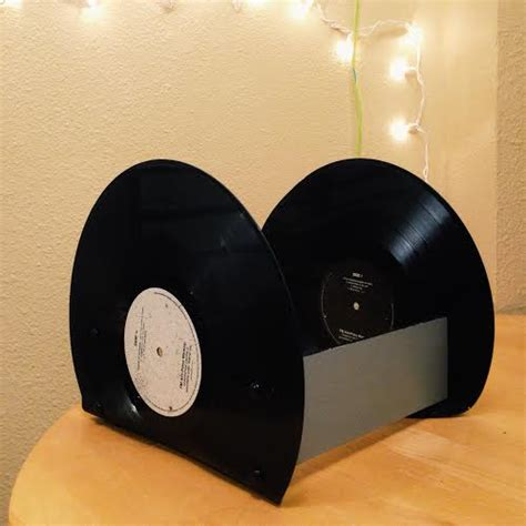 Where Were U In 92 Vinyl - upcycled vinyl record storage rack diy therapy the