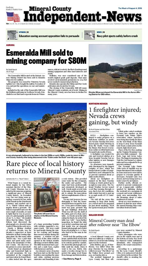 2016 obituaries monroe county independent august 4 2016 mineral county independent news