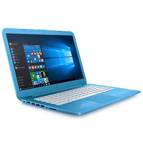 Ram Laptop Hp 14 hp 14 ax000na laptop intel celeron 4gb ram 32gb emmc 14 quot aqua blue 163 199 95