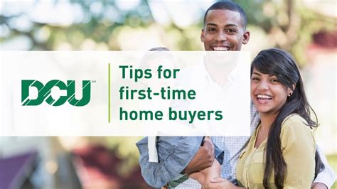 Tips For Time Home Buyers by Dcu Digital Federal Credit Union Tips For Time