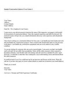 Cover Letter For Construction Labourer 100 Best Construction Labor Cover Letter Patriotexpressus Scenic Exles Cover Letter