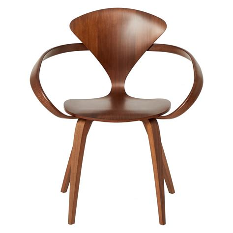 cherner armchair cherner classic walnut armchair the conran shop