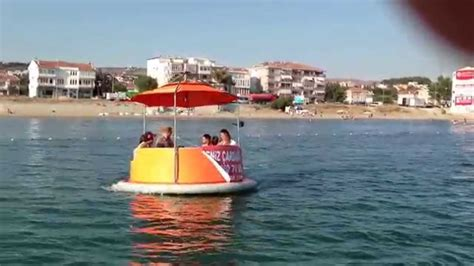 Donut Boat magic donut boat in mediterranean sea
