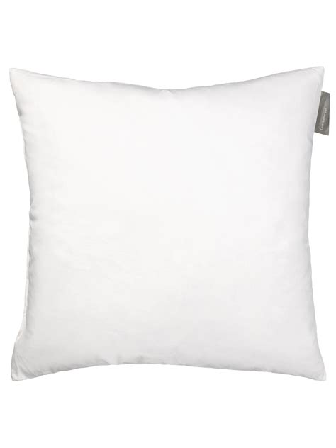 Duck Cushion lewis partners duck feather cushion pad at