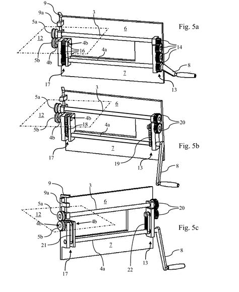 sheet metal bead roller plans patent us20120304725 bead roller patents