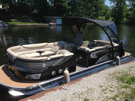 tahoe boats new tahoe pontoon 25 vision rj 2014 for sale for 59 900