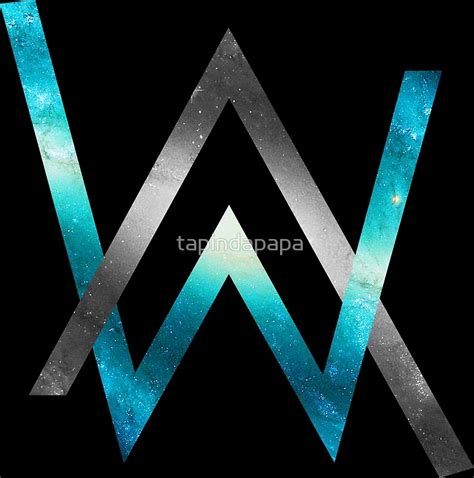 alan walker logo vector quot alan walker quot posters by tapindapapa redbubble