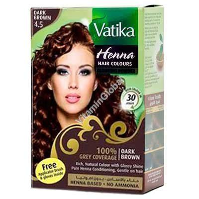 sachets of hair colours 2015 henna hair colours dark brown 60g 6 sachets of 10g each