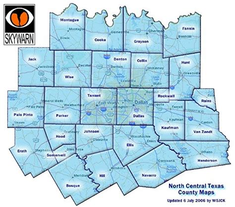 dfw county map adventures of an emergency management volunteer maps of